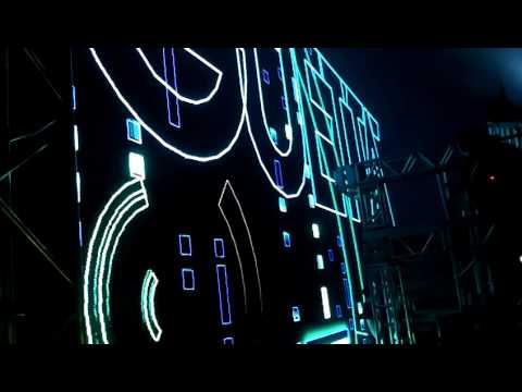 Abertura de David Guetta no Recife 2014 em sima do Palco Exclusivo ,Simples mente moral