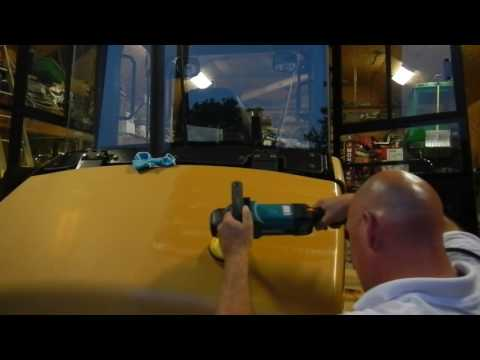 HOW TO RESTORE YOUR CATERPILLAR WHEEL LOADER PAINT