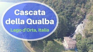 Cascata della Qualba con Drone 📽🏞 Lago d'Orta, Italia
