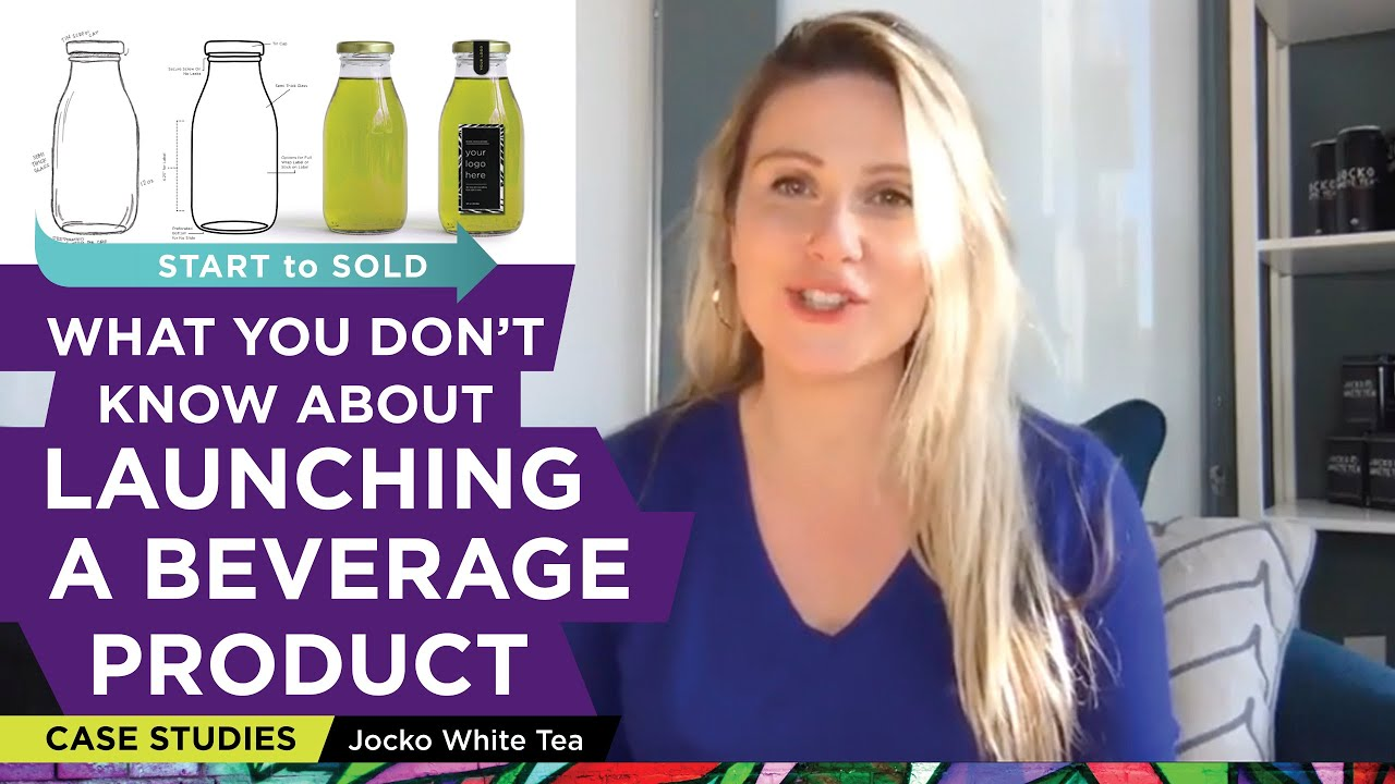 HOW TO TURN YOUR IDEA INTO A READY TO SELL BEVERAGE PRODUCT: CASE STUDY – JOCKO WHITE TEA