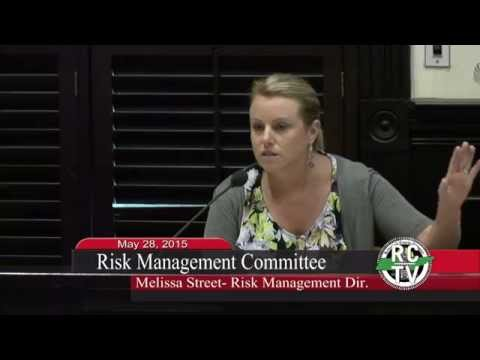 Risk Management Committee - May 28, 2015