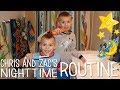 Twins Nighttime Routine
