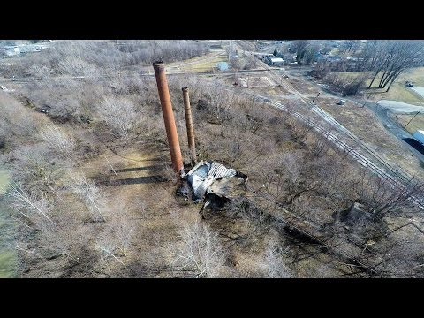 Abandoned Fertilizer Factory - CIL Company Chatham 4k