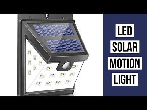 Best Solar Lights Outdoor | LED Solar Lights Outdoor | LED Solar Light Outdoor Motion Sensor