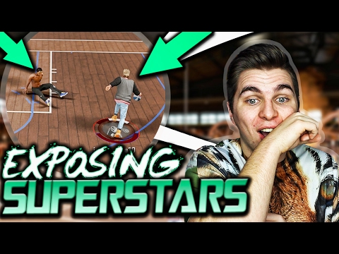 EXPOSING A 96 OVERALL SUPERSTAR 2! HE TOUCHED THE GROUND! NBA 2K17 PARK