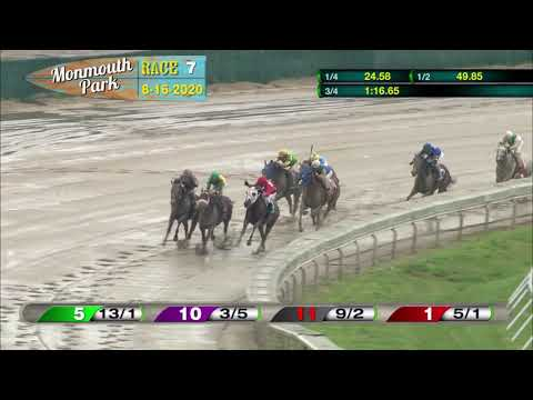 video thumbnail for MONMOUTH PARK 08-16-20 RACE 7
