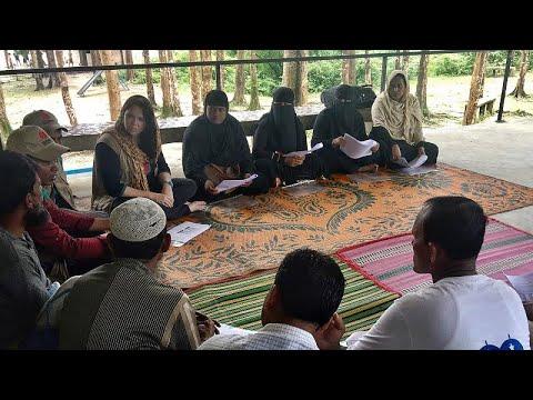 Bangladeshis and Rohingya refugees build communities in the wake of crisis
