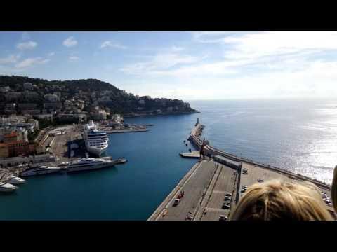 The marina of Nice, Frace