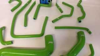 Патрубки системы охлаждения Subaru Impreza WRX GD зеленые (www.tuningshop24.ru)(Полный комплект спортивных силиконовых патрубков для автомобилей Subaru Impreza WRX и STI. Цвет: зеленые. Трехслойны..., 2014-03-11T19:16:32.000Z)