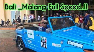 Duo VW Safari Gilaaa!!  Touring Bali Malang full spedd...
