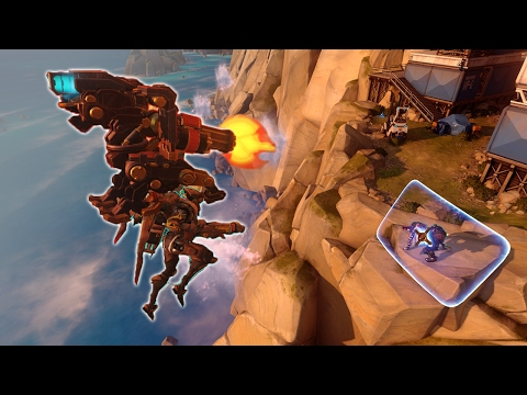 [Overwatch] The Flying Bastion