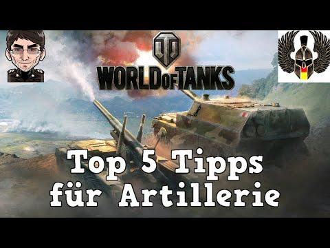 World of Tanks - Top 5 Tipps & Tricks für Artillerie bis 9.18 [deutsch | Tutorial]