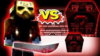 JASON GIGANTE VS. LUCKY BLOCK SEXTA FEIRA 13 (MINECRAFT LUCKY BLOCK CHALLENGE) [ WIIFEROIZ ]