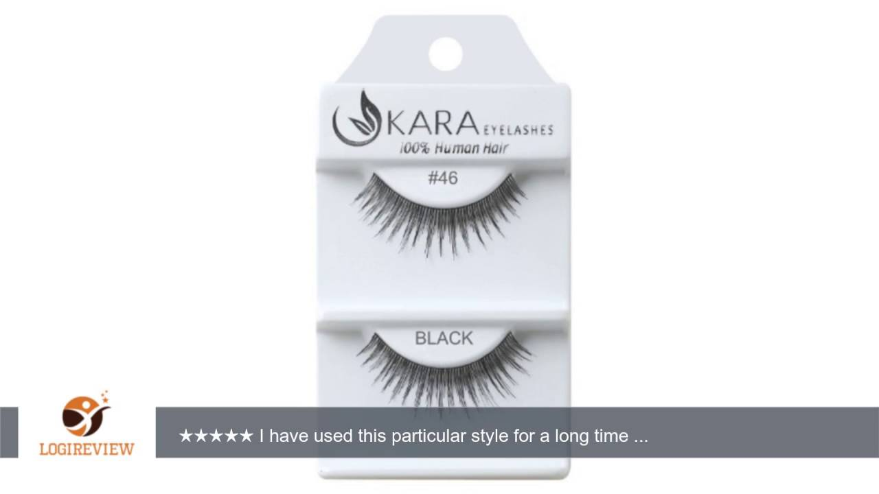 Kara Beauty Human Hair Eyelashes 46 Pack Of 12 Reviewtest