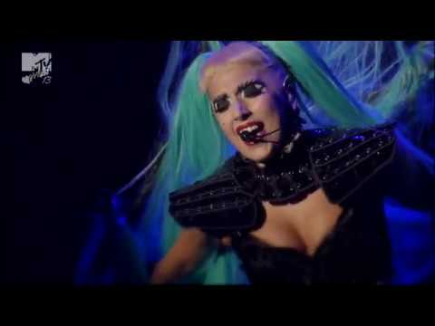 Lady Gaga - The Edge Of Glory + Born This Way Live At MTV Video Music Aid Japan (June 25th 2011)