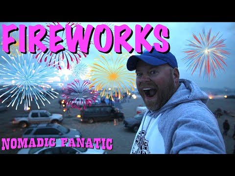 Mortars & Fireworks at the Beach!!! Oh Yeah!