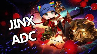 League of Legends - Firecracker Jinx ADC - Full Game Commentary