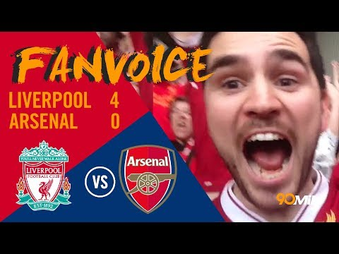 Liverpool steamroll Arsenal with ease! | Liverpool 4-0 Arsenal | 90min FanVoice