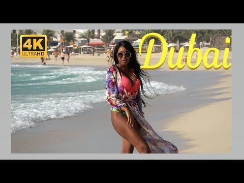 Dubai in 4K UHD - Jumeirah Beach.