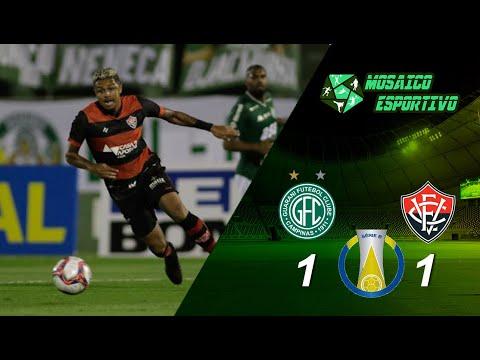 Guarani 1 X 1 Vitória : Melhores Momentos Série B Brasileirão 2021