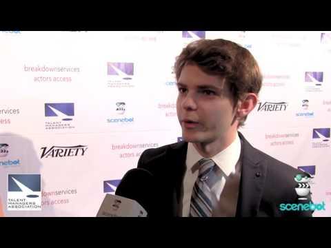 Robbie Kay - Heller Awards Red Carpet 2016
