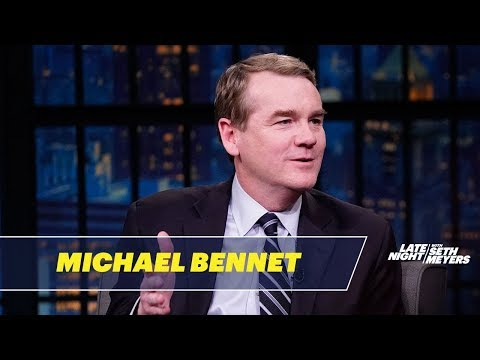 Sen. Michael Bennet on Government Spending, Economic Growth and Marijuana