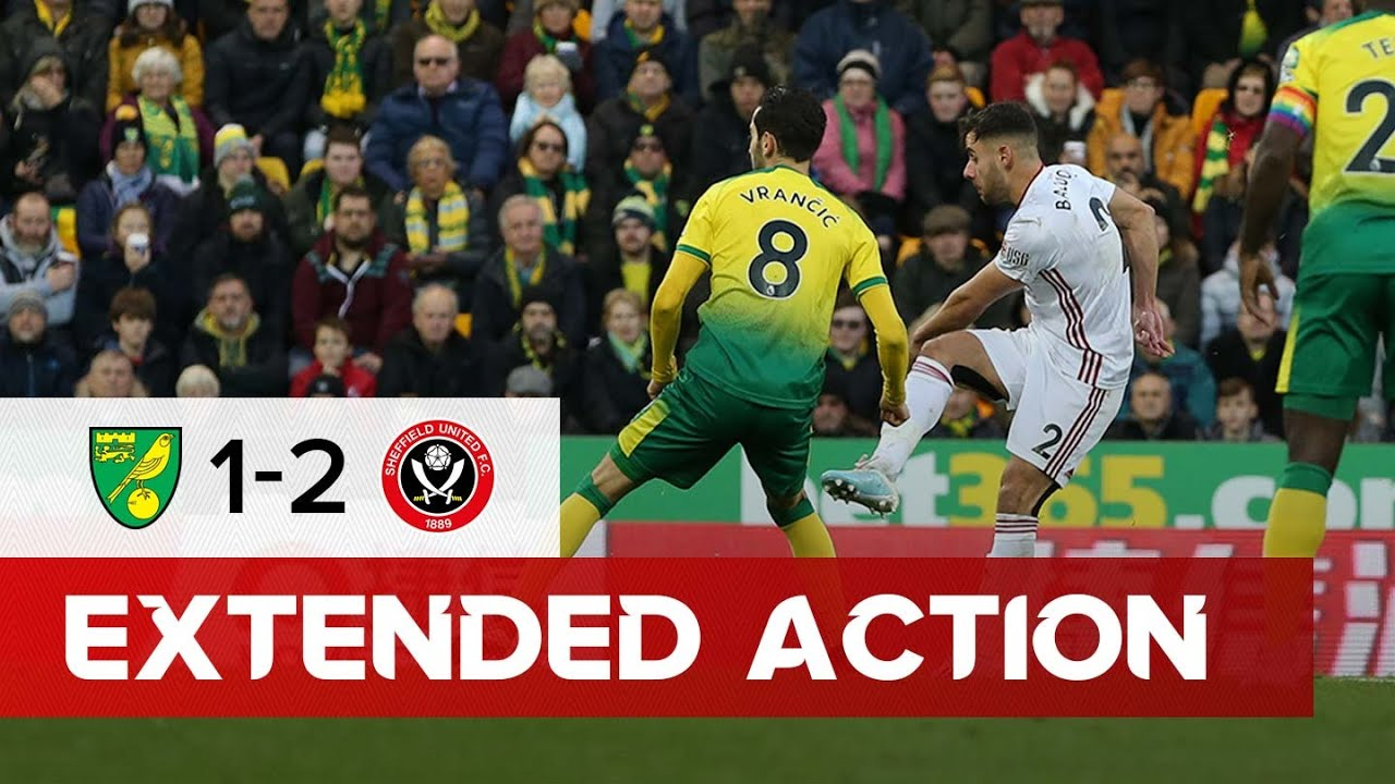 Norwich City 1-2 Sheffield United | Extended Premier League highlights