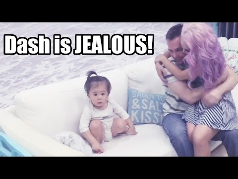 Baby Dash Is Jealous!!! (1yr 7m)