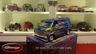 Review über den 1974 Chevy Custom Van von Highway 61 1:16 / 1:18 Re...