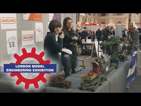 Michael Denny's Meccano Models at the London Model Engineering Exhibition 2016
