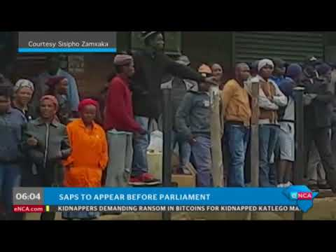 SAPS to appear before parliament
