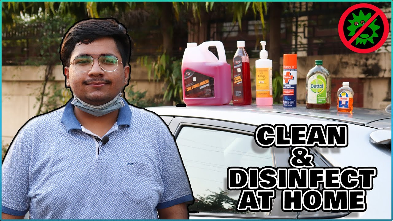 Protected My Car from Corona Virus   Car Cleaning & Disinfection DIY