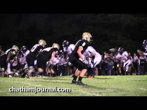 Northwood Chargers vs Southern Lee Football Game - 2nd quarter
