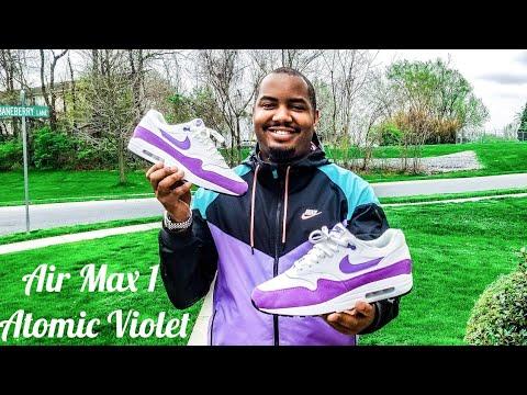 air max 1 violette