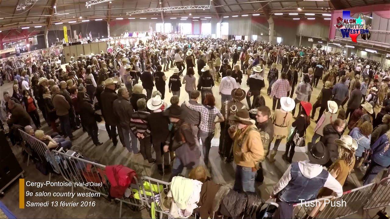 Tush push samedi 13 f vrier 2016 au 9e salon country - Salon country western ...