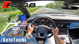 AUDI RSQ8 *TOP SPEED* on AUTOBAHN (NO SPEED LIMIT) by AutoTopNL