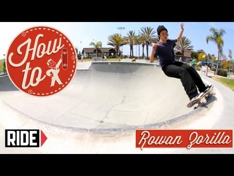 How-To Skateboarding: Frontside 50-50 Grind with Rowan Zorilla