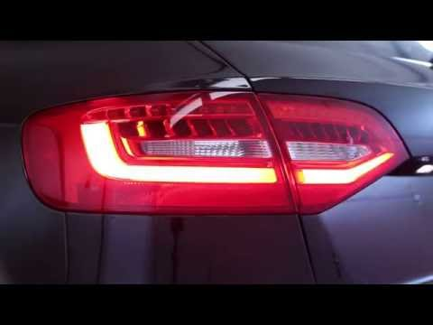 Audi A4, S4, Allroad Post-Facelift LED Taillights (Avant)