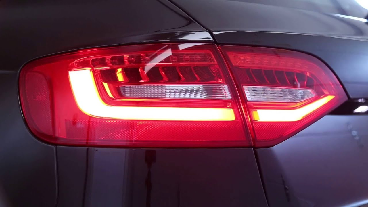 audi a4 s4 allroad post facelift led taillights avant. Black Bedroom Furniture Sets. Home Design Ideas