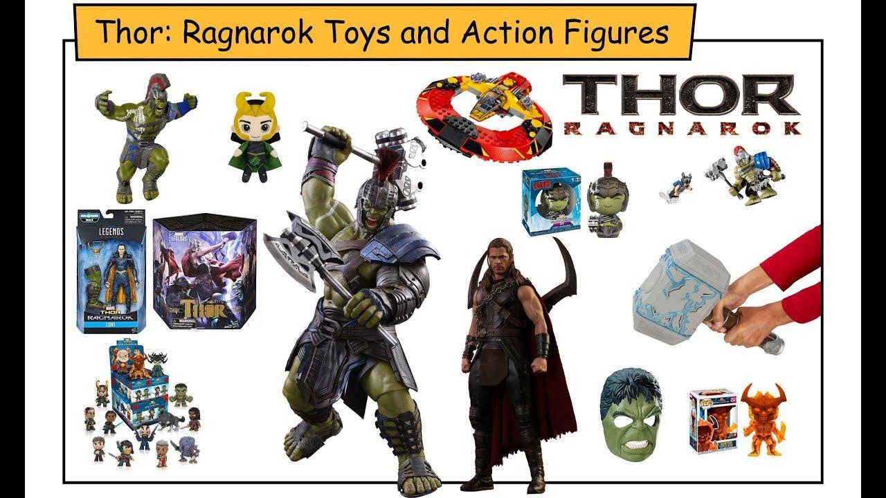 Kids Toys Action Figure: THOR RAGNAROK AND HULK KIDS TOYS AND ACTION FIGURES