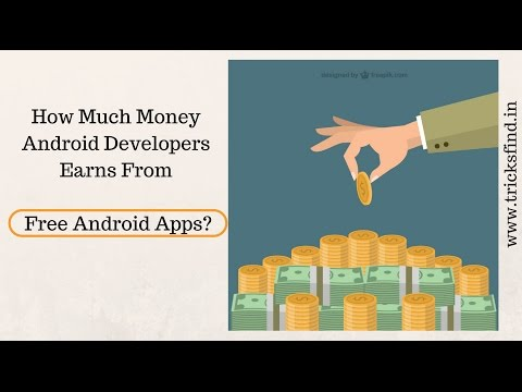 How Much Android Developer Earns From Free Apps? | ThingsToK