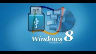 Как создать загрузочный диск Windows 8