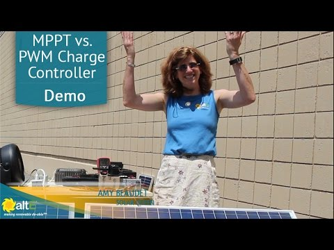 Comparing MPPT vs PWM charge controllers with a 24V panel and 12V battery