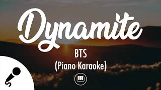 Dynamite - BTS (방탄소년단) (Piano Karaoke)