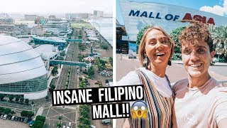 Filipino Shopping Malls are INSANE | Mall of Asia in Manila, Philippines