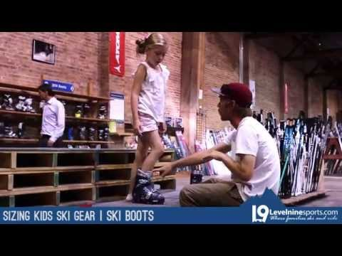 How To Size Kids Ski Gear