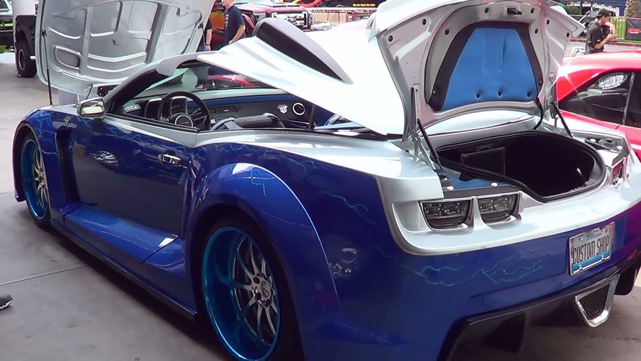 2015 camaro concept the custom shop sema 2013 youtube