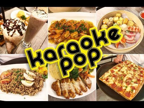 Karaoke Pop Family K-TV, Manhattan Row, Araneta Center, Food Review