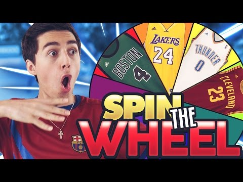 Thumbnail: SPIN THE WHEEL OF NBA PLAYER NUMBERS! NBA 2K17 SQUAD BUILDER