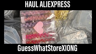 HAUL / UNBOXING Aliexpress Store GuessWhatStore XIONG Oktober 2019